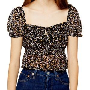 NWT Topshop Lace Top